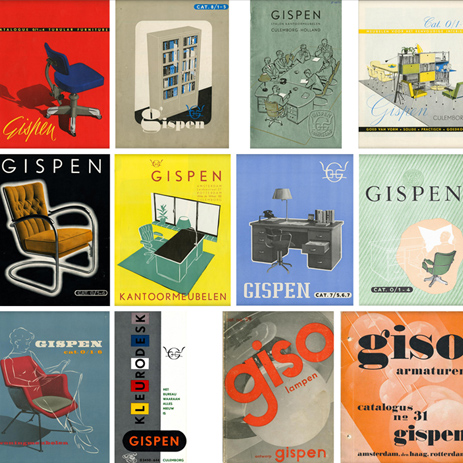 Gispen illustraties historie